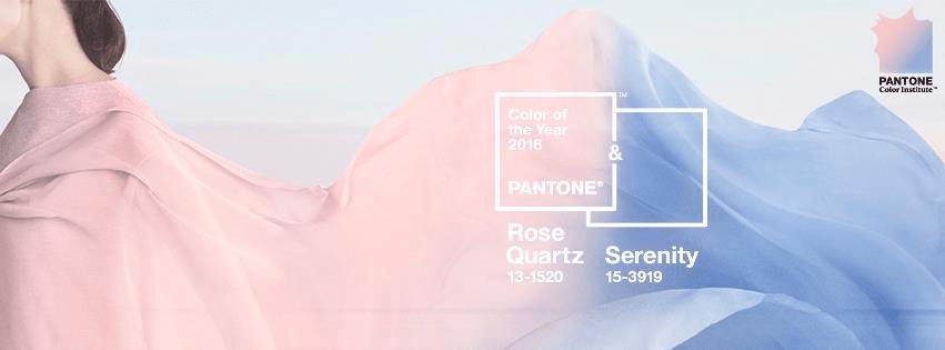 Rosa Cuarzo y Serenidad, los colores de 2016