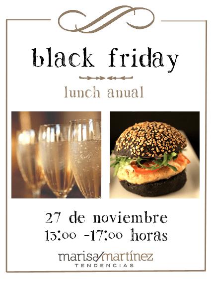 Lunch & Black Friday