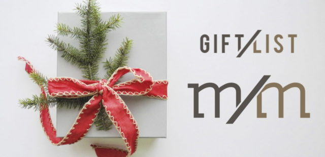 Marisa Martinez Gift List